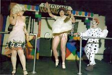 Org Amateur Semi Nude Large (10.25 x 7) Photo- Clown- Funhouse- Panties- Skirt 2