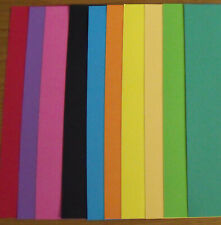 8 x A4 KANBAN Assorted Glitter CARD 280gsm in 8 Colours NEW