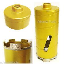 "3"" Dry Diamond Core Drill Bit for Soft Brick Concrete Block-6"" Short Barrel Tube"