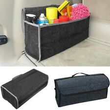 Multipurpose Rear Trunk Zone Car Storage Organizer Boxes Collapsible Cases NEW