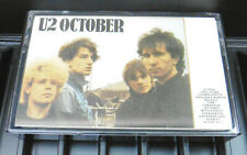 U2 October Paper Label Cassette Tape Album EX++
