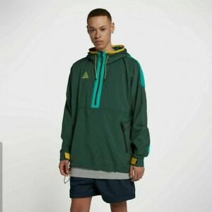 Men's Nike ACG Woven Hooded Jacket -Atomic Teal -Size L -931907 375 -NEW-