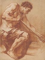BOUCHER FRENCH WORKER FORGE OLD ART PAINTING POSTER PRINT BB5369A