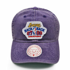Los Angeles Lakers Exclusive 1987-88 Back to Back NBA CHAMPIONS Locker Room Hat
