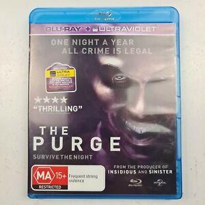 The Purge - Blu-Ray Movie - Ethan Hawke - Lena Headey - Tracked Post