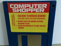 "ITHistory (199X) IBM Software: COMPUTER SHOPPER (Message Centre)  3.5"" No Manual"