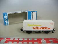 M477-0,5# Märklin/Marklin H0 Containerwagen, Spielwaren Völger, DB, TOP+OVP