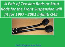 2 PCS Strut Rods Front Suspension Lower Control Arm for 1997 - 2001 Infiniti Q45