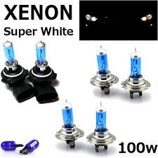 H7 H7 HB4 100w SUPER WHITE XENON UPGRADE HID Headlight Bulbs 12v FULL/DIPPED/FOG