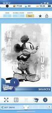 Disney Collect Topps Digital Selects -  #1 Mickey Mouse - Single - Rare
