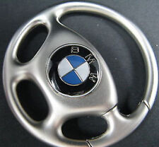 CHROME BMW Z4 X5 M5 Car Steering Wheel key Chain Ring