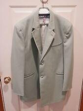 Mint Seafoam Green Tuxedo Jacket Andrew Fezza Fusion Costume sz 48 L 48 long