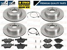FOR BMW 5 SERIES F10 518D 520 520D FRONT REAR VENTED BRAKE DISCS PADS 2010-2016