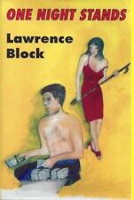 One Night Stands: Early Stories, Laid in Pamphlet Lawrence Block SIGNED First Ed