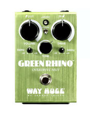 Way Huge Green Rhino Overdrive MKIV Distortion Guitar Effects Pedal Stompbox