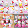 Amine Hello Kitty PVC Action Figures Kids Toys Dolls Cake Toppers Playset 6/8pcs