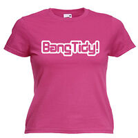 Bang Tidy Keith Lemon Inspired Ladies Lady Fit T Shirt 13 Colours Size 6 - 16