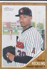 Trevor Reckling White Sox 2011 Topps Heritage Minor League Card