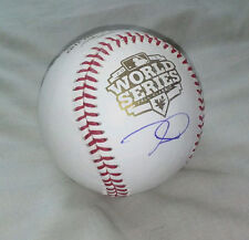 TIM LINCECUM signed 2012 WORLD SERIES baseball SAN FRANCISCO GIANTS *NO HITTER*
