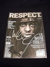Lil Wayne Autographed Respect Magazine Rap YMCMB/ JSA