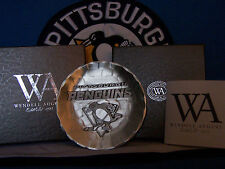 PITTSBURGH PENGUINS COASTER FORGED BY WENDELL AUGUST FORGING