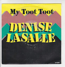 Denise LASALLE Vinyl 45T MY TOOT TOOT -GIVE ME YO MOST WHISKY EPIC 6334 F Rèduit