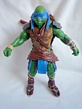 "TEENAGE NINJA MUTANT TURTLES LEONARDO 11"" FIGURE / PLAMATES TOYS / NO SWORDS"