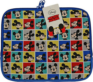 Disney Mickey Mouse Tablet case iPad Sleeve Cover Book Notepad Padded Protection