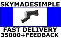 BRAND NEW 4WAY QUAD MK4 ADAPTOR LNB LMB FOR SKY+/FREESAT/HD/SKY+HD/3D/UNIVERSAL