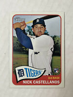 NICK CASTELLANOS 2014 Topps Heritage HIGH NUMBER SP RC #H552! REDS! SUPER HOT!