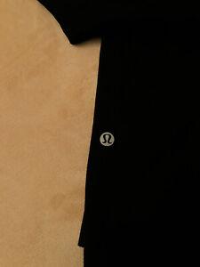 Lululemon Capri Leggings Size 12 Black Color Women's
