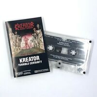 KREATOR Terrible Certainty Cassette Tape Thrash Metal Noise International Rare
