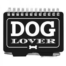 #2868 DOG LOVER  in Black & White   Wellspring Password Organizer Book w/Pen