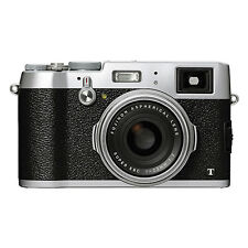 Fujifilm X100T 16.3MP Digital Camera Full HD Wi-Fi Silver