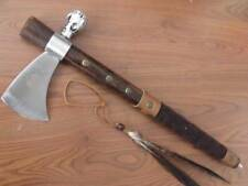 Brand New Indian tobacco pipe Throwing Axe D153