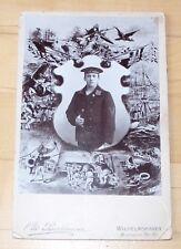 Kaiserliche Marine Matrosen Division II. Orig. Kabinettfoto Wilhelmshaven