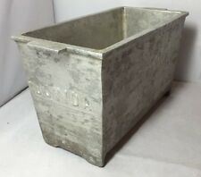 Vintage Industrial Professional French Catering Pate Mould Aluminium