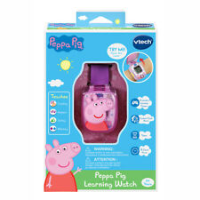 VTech Peppa Pig Learning Watch NEW