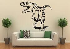 Wandtattoo, Wallprint: T-Rex Dino Dinosaurier 60x65cm Fantasie versch. Farben