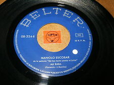 MANOLO ESCOBAR - ALI BABA - SON DE MARIA - LISTEN  / ORIENTAL POPCORN