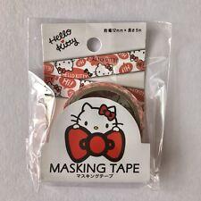 "Washi Tape ""Hello Kitty"" Masking Tape Sanrio 12mm x 5m"