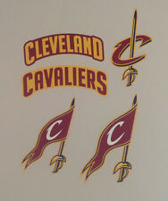 "Cleveland Cavaliers FATHEAD Lot/5 Different NBA Team Logo Graphics (UP TO 14"")"
