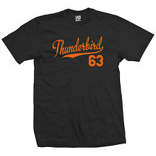 Thunderbird 63 Script Tail Shirt - 1963 T-Bird Classic Car - All Size & Colors
