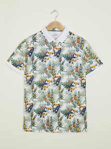 Peter Werth New Mens Barchester Polo - All Over Print