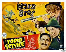 ROOM SERVICE LOBBY CARD POSTER HS 1938 THE MARX BROTHERS GROUCHO HARPO CHICO