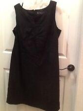 Women's Anne Klein Black Sheath Dress Plus Size 20W