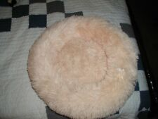 "Comfy Soothing Fur ""Donut"" Style Pet Bed"