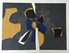 "RONALD KING b1932 Artists Proof LINOCUT ""Still Life"" 1960s 9/15"
