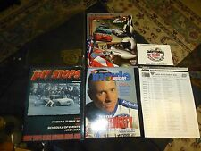 1998 DAYTONA 500 PROGRAM-LOT Daytona Speedway W/ HUGE SWAG COLLECTORS LOT VG !
