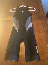 TYR Torque Elite Women's Swimskin Black Large (Worn Only Once)